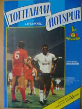 1984/85 League CUP (Milk Cup) 3rd Round TOTTENHAM HOTSPUR v. LIVERPOOL 31 Octobe