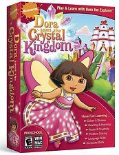 Dora Saves The Crystal Kingdom PC Games Windows 10 8 7 Vista XP Computer kid NEW