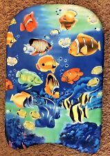 Fish Design 11X17 Swimming Kick Float Luau Party Foam Surf Board