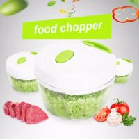 Vegetable Onion Garlic Food Quick Chopper Cutter Slicer Peeler Dicer