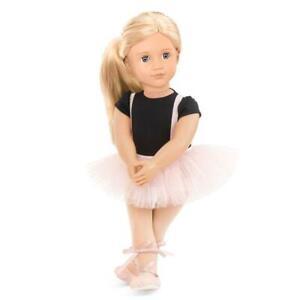 Our Generation Violet Anna Ballerina Ballet Dancer 18 inch OG Doll Set NEW