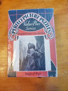 1930's Perfect Picture Puzzle 14.5x11 250 Pc No 1410 Right of Way
