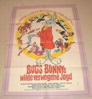 A1 Filmplakat ,BUGS BUNNY S WILDE VERWEGENE JAGD, ZEICHENTRICK