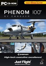 Embraer Phenom 100 add on for MS Flight Simulator PC DVD *NEW*