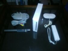 Modded Nintendo Wii White Console Gamecube Compatible FREE SHIPPING - TESTED