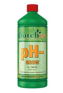Dutch Pro pH- pH Down Reduce pH-level During Grow Phase - 1L