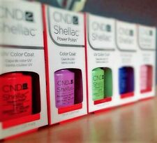 SMALTO CND SHELLAC GEL SEMIPERMANENTE 7.3ml Tutti I Colori Disponibili