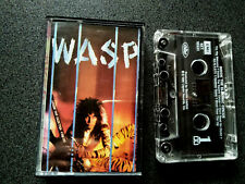 WASP INSIDE THE ELECTRIC CIRCUS CASSETTE TAPE USA