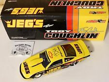 Action 2002 Troy Coughlin Jeg's Signed NHRA Pro Stock Car 1:24 Scale Diecast
