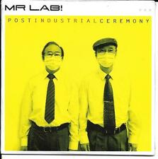 CD CARTONNE CARDSLEEVE COLLECTOR 12T Mr. LAB POST INDUSTRIAL CEREMONY 2008 NEUF
