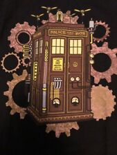 Dr. Who Police Box t-shirt Men's Small New  with tags