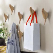 1PC Wall Hook Bird Decor Hook Hanger Cast Iron Home Decorative Birds Coat Towel