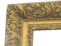 ANTIQUE  GREAT QUALITY GILT FRAME FOR PAINTING  30 X 24 INCH   (i-1)
