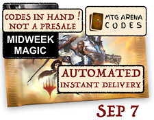 MTG Arena code card FNM  Midweek Magic Promo Pack September 7 - INSTANT MAIL-