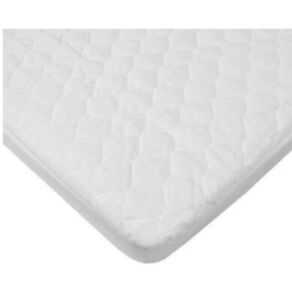 """American Baby Company Waterproof Quilted Bassinet Mattress Cover 15""""x33"""""""