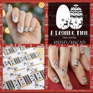 🎅🏻 🎄 COLOR STREET Nail Strips ~ A Dashing Time ~ Holiday Christmas