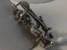 21D BEAUTIFUL VINTAGE SILVER GNOME CHARM