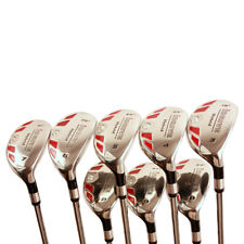 BIG TALL LONG XL HYBRIDS 3-9 FREE PW COMPLETE HYBRIDS GOLF CLUBS SET JUMBO GRIPS