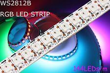 1-5m 144 RGB AI LED Strip mit WS2812B 5050 SMD LEDs WS2812 144LEDs/m