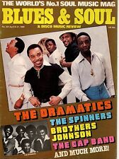 The Dramatics Blues & Soul 301 1980  The Brothers Johnson  The Gap Band Shalamar