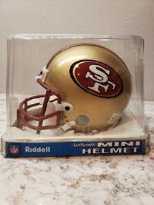 Riddell NFL San Francisco 49ers Authentic Throwback Mini-Helmet