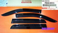 GENUINE D-CAB TOYOTA HILUX MK6 MK7 SR SR5 RAIN SHIELD WIND DEFLECTOR GUARD 05-14