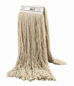 10 Kentucky 16oz 450g Industrial 100% Cotton Twine Mop Head CHAS Approved heavy
