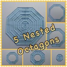 Quilt templates stencils ebay quilting template octagon and square pronofoot35fo Choice Image