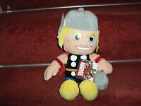 "OFFICIAL MARVEL THOR SOFT TOY PLUSH 12"" COMIC BOOK HERO NEW TAGS"