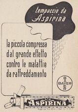 Z3797 ASPIRINA Bayer - Pubblicità d'epoca - 1939 vintage advertising