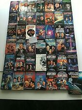 LOT 42  STAR TREK  VINTAGE 80's-90's  COLLECTIBLE PAPERBACK BOOKS  New Old Stock