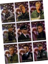 """Stargate Season 6: 9 Card """"In The Line Of Duty Col. O'Neill"""" Chase Set CO1-CO9"""