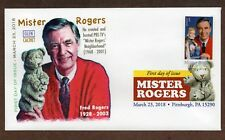 2018 MISTER ROGERS~ GLEN CACHET - DCP CANCEL -  FIRST DAY COVER