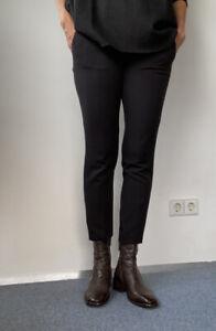 MOMA Stiefelette, Dunkelbraun, Größe 38 (fällt ca. eine Nummer größer aus)