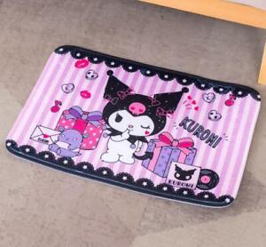 """Cute Kuromi Home Kitchen Doormat Bath Mat Rug Pad Carpet Floor Mat 18.5"""" x 26"""""""