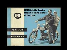 NSU QUICKLY SERVICE REPAIR & PART MANUALS -410pg NSL TT Max Normal Special Luxe