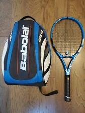 Babolat Pure Drive 4 3/8, standard 300g version, and Team backpack