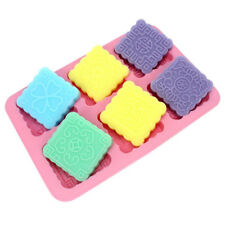 DIY Silicone Square Mooncake Muffin Cupcake Soap Mold Chocolate Pan Tray Tools