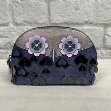 NWT Kate Spade Zibbi Owl Dome Cosmetic Bag