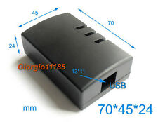 US Stock 2pcs Plastic Project Box Electronic Enclosure Case DIY 70 x 45 x 24mm
