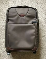 Samsonite Light 2 Wheels Cabin Carry on Small Luggage Suitcase - Brown
