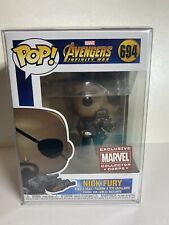 New Funko Nick Fury 694 Marvel Collector Corp w/ Sorter FREE SHIPPING