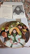 Scarlett and Her Suitors Plate First Issue Gone With The Wind 1988 Original Open