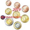 Série 1 Cent à 2 Euro BU Malte 2019 avec Poinçon F - Série Brillant Universel