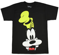 Disney Goofy Shirt Men's Big Face Graphic Officially Licensed T-Shirt