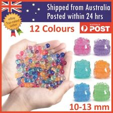 Orbeez Crystal Soil Water Balls Jelly Gel Beads For Vase Home Wedding 10-13mm
