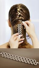 Flechthilfe Flechtwunder Stylinghilfe Frisurenhilfe Zopfhilfe Beige