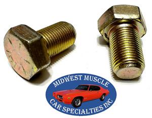 67-72 GM Disc Brake Caliper Bracket Dust Shield Backing Plate Knuckle Bolts UR