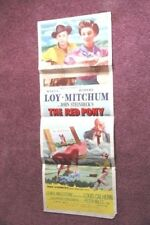 """The Red Pony"" `1973 original movie poster / Robert Mitchum / Myrna Loy"