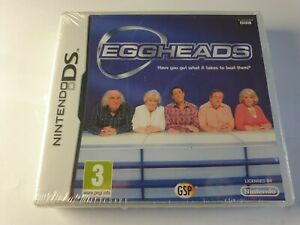 Eggheads Nintendo DS Game New & Sealed FREE UK POSTAGE
